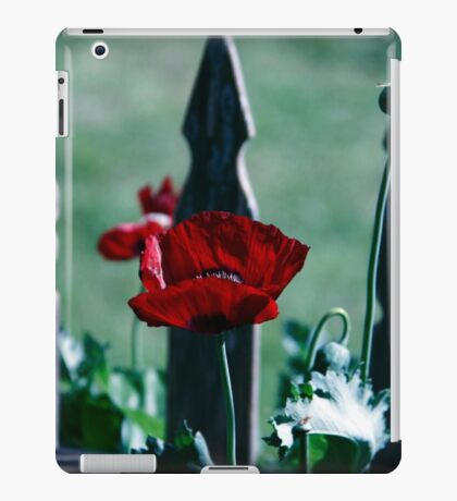 Gothic Poppy iPad Case/Skin