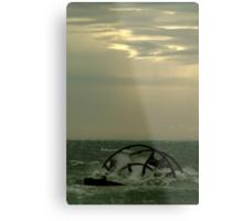Ozone Shipwreck,Indented Heads Metal Print