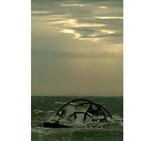 Ozone Shipwreck,Indented Heads Photographic Print