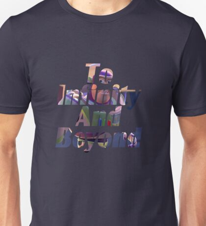 "Buzz ""To Infinity And Beyond"" Unisex T-Shirt"