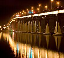 Tasman Bridge by Evan Schoo