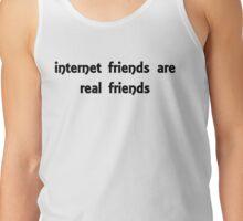internet friends 2 Tank Top