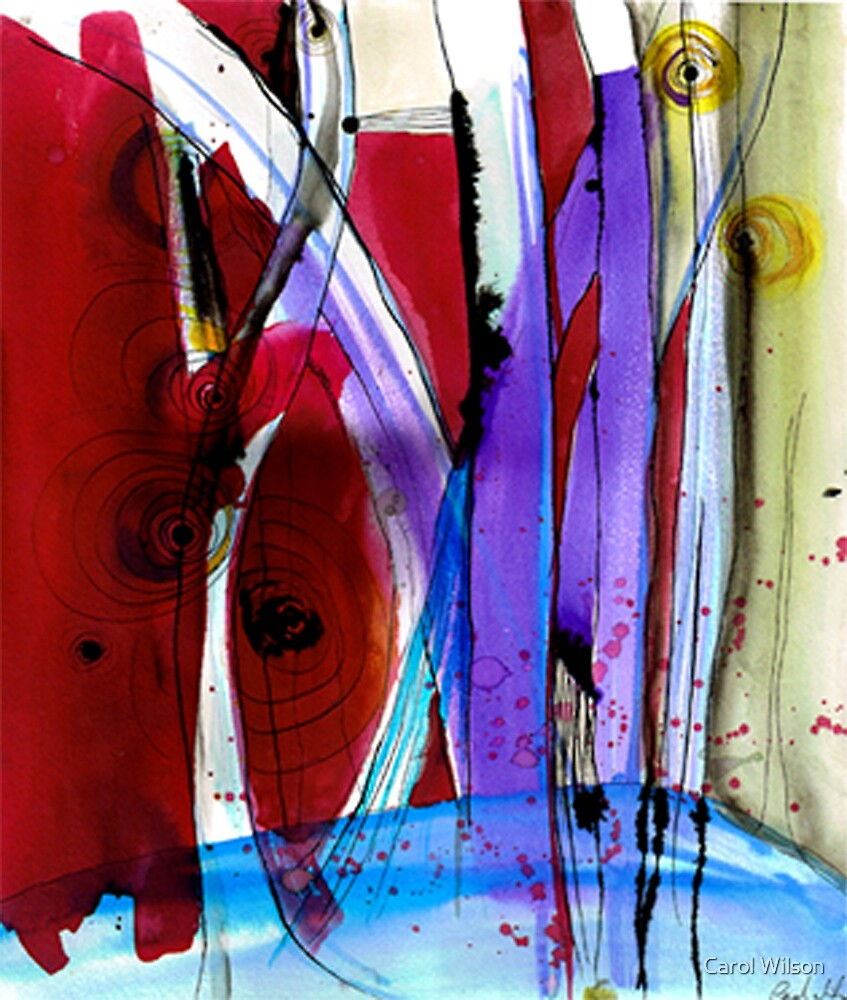 Redstrip by Carol Wilson