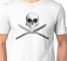 Skull and Hedge Clippers Unisex T-Shirt