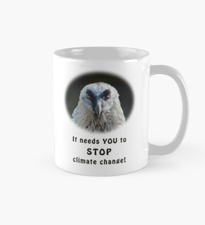 Bearded Vulture against climate change Mug