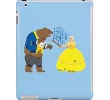 Brienne and the Bear iPad Case/Skin