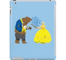 Brienne and the Bear iPad Case/Skin