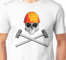 Skull and Sledge Hammers 3 Unisex T-Shirt