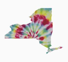 NY State Tie Dye by Lauren McVetty