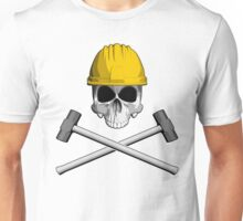 Skull and Sledge Hammers 2 Unisex T-Shirt
