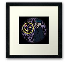 Rorshlock Framed Print