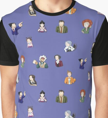 Ace Attorney Graphic T-Shirt