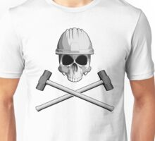 Skull and Sledge Hammers Unisex T-Shirt