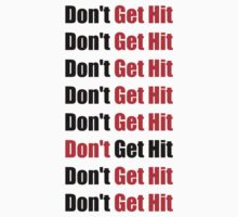 Don't Get Hit  (Isai) - Black/Red by ilikewinning2