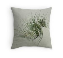 Growing In Sand Throw Pillow