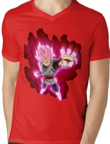 goku black rose Mens V-Neck T-Shirt