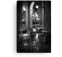 The Cafe - Venice Canvas Print