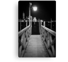 The Pier - Venice Canvas Print