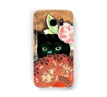 The Fan Cat Art Samsung Galaxy Case/Skin