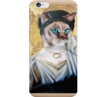 Greek Lady Cat iPhone Case/Skin