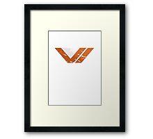 Destiny Vanguard Logo Framed Print