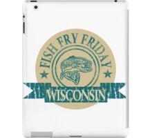 WISCONSIN FISH FRY iPad Case/Skin