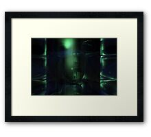 The Green Dungeon Framed Print