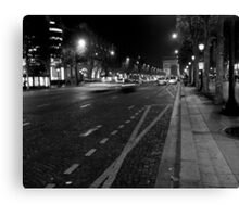 Champs Elysees - Paris Canvas Print