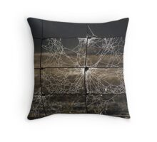 Webby Square Throw Pillow