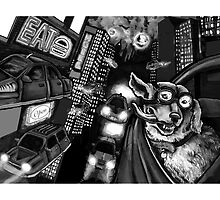 Admiral Q and the Eternal Nocturne Metropolis  by MHirshfield