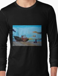 They...in the harbors... Long Sleeve T-Shirt