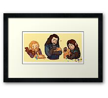 The Durins and the Kitten Framed Print