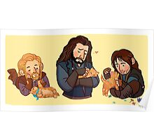 The Durins and the Kitten Poster