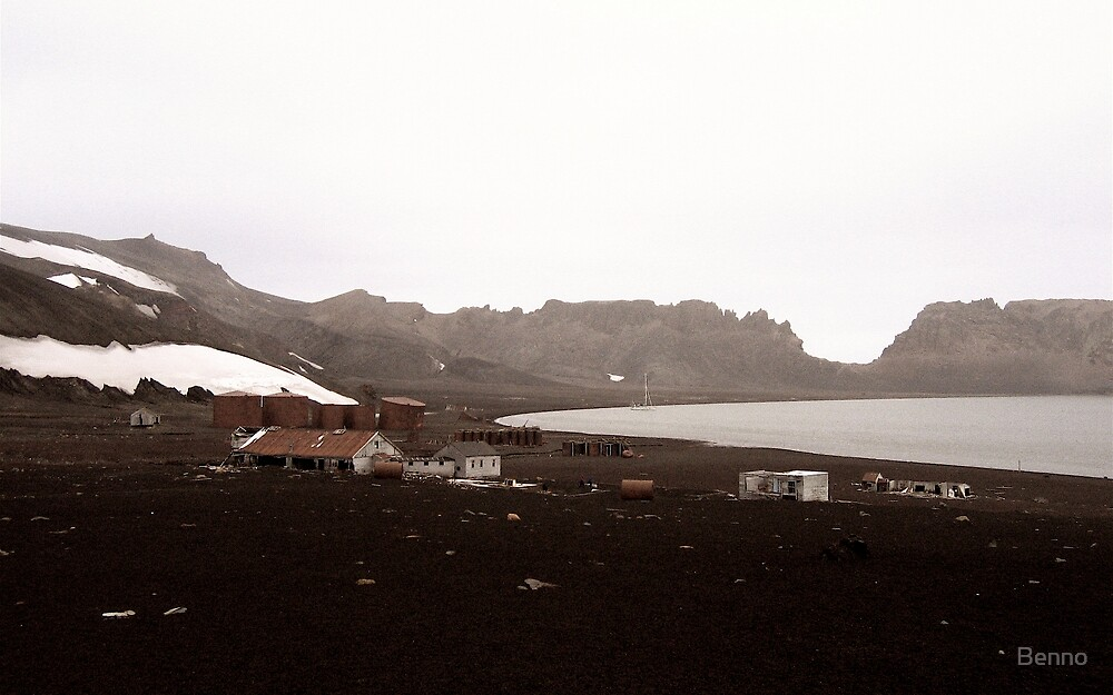 Whalers Bay, Deception Island by Benno