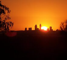 Perth City, Sun-set by Nikita