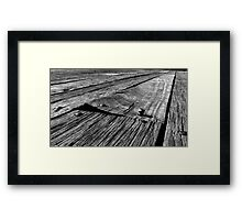 Out of Line Framed Print