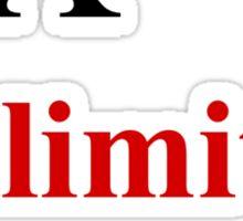 Unlimited Power! Sticker