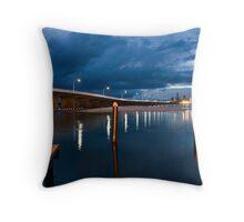 Forster/Tuncurry Bridge Throw Pillow