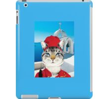 Greek Cat iPad Case/Skin