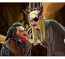 Meatbeard and Pirate Elf Photographic Print