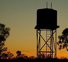 Outback Water Tank,N.T. by Joe Mortelliti