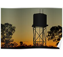 Outback Water Tank,N.T. Poster