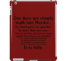 Mordor iPad Case/Skin