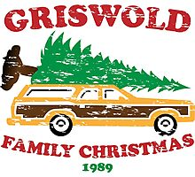 Griswold Family Christmas Photographic Print