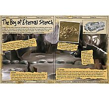 Practical Visitor's Guide to the Labyrinth - Bog of Eternal Stench Photographic Print