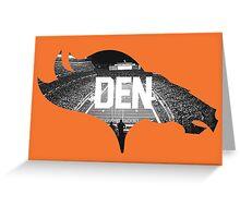 Denver, Colorado Greeting Card