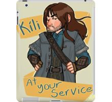 Kíli at Your Service iPad Case/Skin