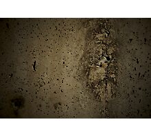 Cement Wall Photographic Print