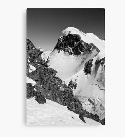 Snow capped Canvas Print
