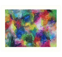 """""""In a Dream"""" original abstract artwork by Laura Tozer Art Print"""